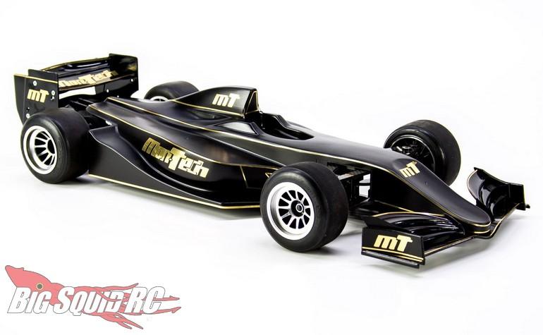 Mon-Tech Racing RC F22 F1 Clear Body