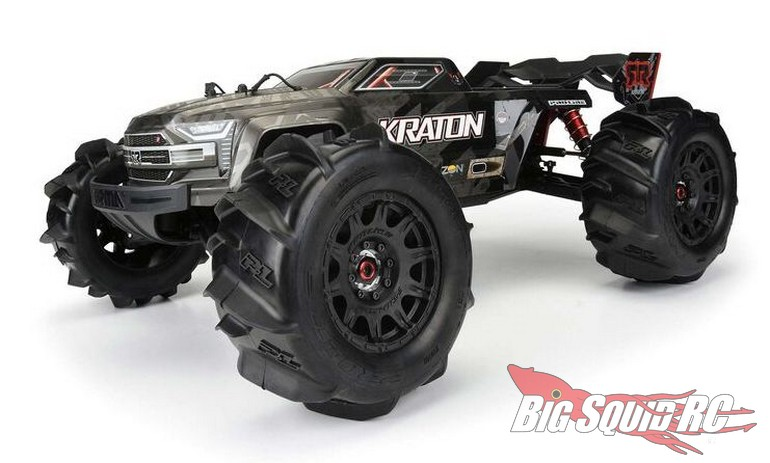 Pro-Line Dumont 3.8 Paddle Tires Mounted