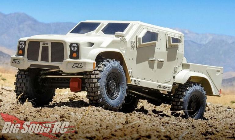 Pro-Line Strikeforce Clear Rock Crawler Body