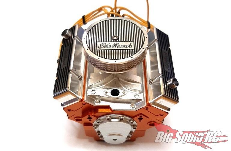 RC4WD Edelbrock V8 Motor Dress up Kit REC