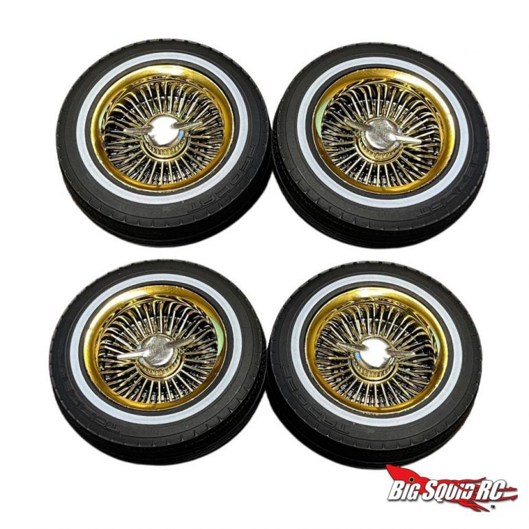 Redcat Racing Gold Wheels for the SixtyFour Lowrider