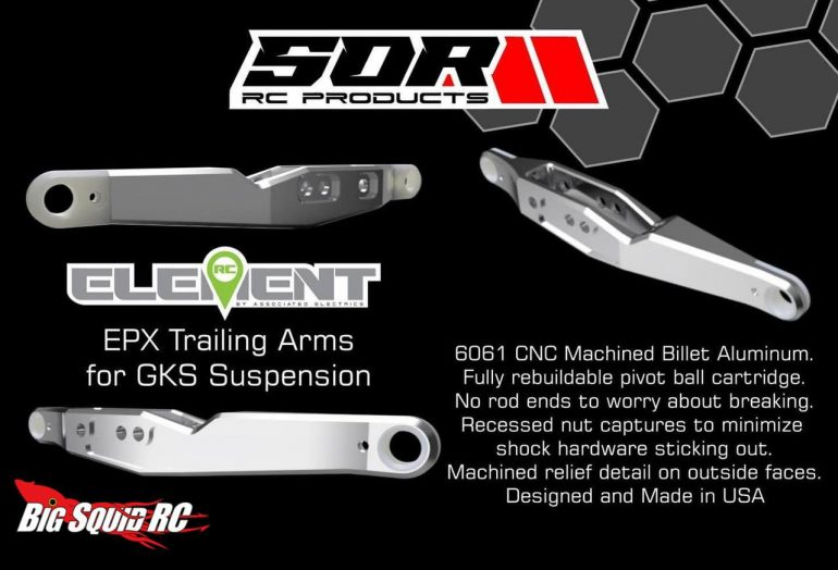 SOR RC Products EPX Trailing Arms
