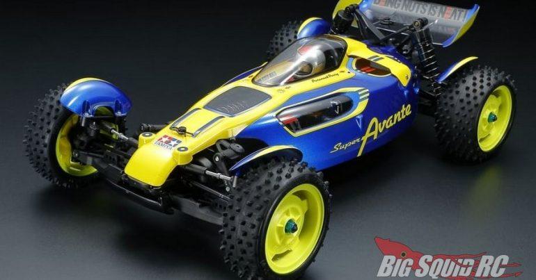 Tamiya 1/10 Super Avante Buggy Kit TD4 Chassis