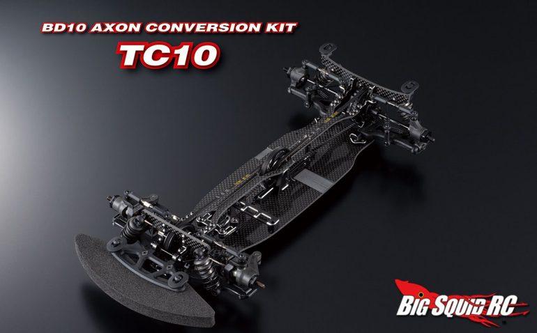 Axon TC10 Yokomo BD10 Chassis Conversion Kit