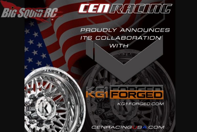 CEN Racing KG1 Forged Wheels RC