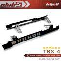 Club 5 Racing Blade Runner Stainless Steel TRX-4 2021 Ford Bronco Rock Sliders - 2