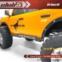 Club 5 Racing Blade Runner Stainless Steel TRX-4 2021 Ford Bronco Rock Sliders - 4