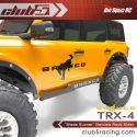 Club 5 Racing Blade Runner Stainless Steel TRX-4 2021 Ford Bronco Rock Sliders - 5