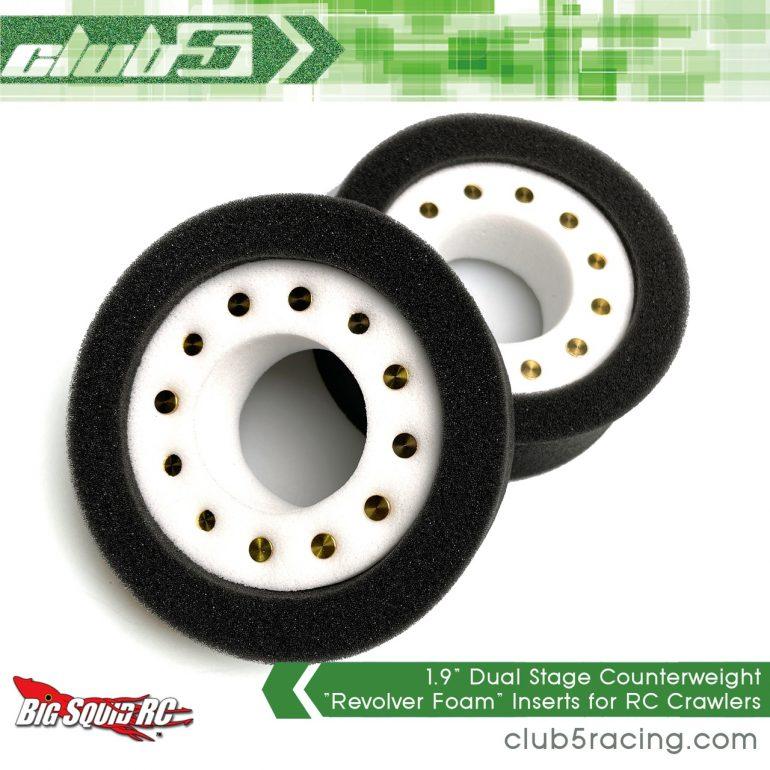 Club 5 Racing Dual Stage Revolver Tire Foams