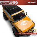Club 5 Racing Traxxas TRX-4 2021 Ford Bronco Body Decals - Silver - 2