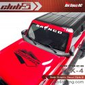 Club 5 Racing Traxxas TRX-4 2021 Ford Bronco Decals Set - Black - 2