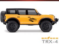 Club 5 Racing Traxxas TRX-4 2021 Ford Bronco Decals Set - Black