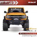 Club 5 Racing Traxxas TRX-4 2021 Ford Bronco Decals Set - Black - 3