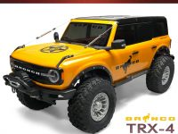 Club5Racing Traxxas TRX-4 2021 Ford Bronco Fender Delete Kit - Installed Front