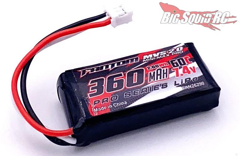 Fantom Racing Mini-Max Pro 2S Mini-Z LiPo Battery