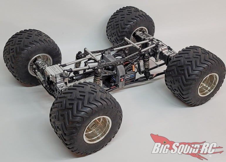 Freestyle RC Rapid X 2.0 Scale Monster Truck Race Chassis