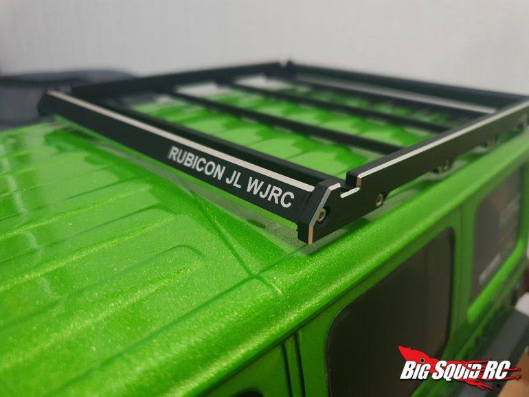 H-Tech Custom Products Jeep Wrangler Roof Rack