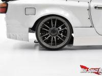 Team Reve D Gunmetal UL12 Drift Car Wheels - Installed