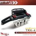 Club 5 Racing Front Metal Skid Plate - Traxxas TRX-4 2021 Ford Bronco - Installed