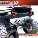 Club 5 Racing Front Metal Skid Plate - Traxxas TRX-4 2021 Ford Bronco - Installed 2