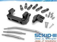 Club 5 Racing SCX10 III Jeep Servo Relocation Kit