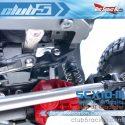 Club 5 Racing SCX10 III Jeep Servo Relocation Kit - Installed