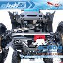 Club 5 Racing SCX10 III Jeep Servo Relocation Kit - Installed 2