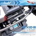 Club 5 Racing SCX10 III Jeep Servo Relocation Kit - Installed 3