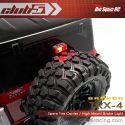 Club 5 Racing Traxxas TRX-4 2021 Bronco Spare Tire Carrier and Third Brake Light