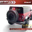 Club 5 Racing Traxxas TRX-4 2021 Bronco Spare Tire Carrier and Third Brake Light - 2