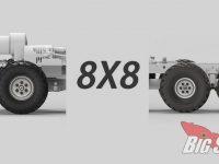 Cross RC 8x8 Teaser Military Scale Rock Crawler