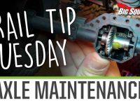 Element RC Axle Maintainance