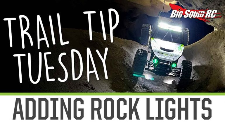 Element RC Trail Tip Tuesday - Adding Rock Lights
