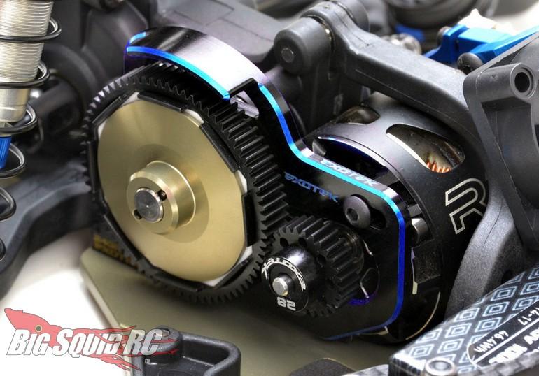 Exotek Aluminum Laydown Motor Plate Associated B6.3