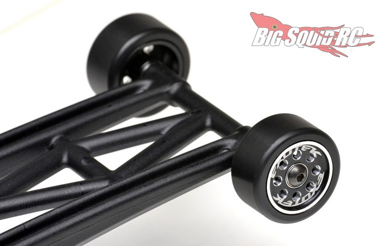 Exotek CNC Machined Wheelie Bar Wheels Losi 22S