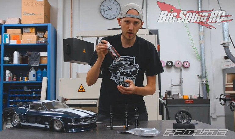 Pro-Line RC How To Chrome Wheels Video Drag Racing