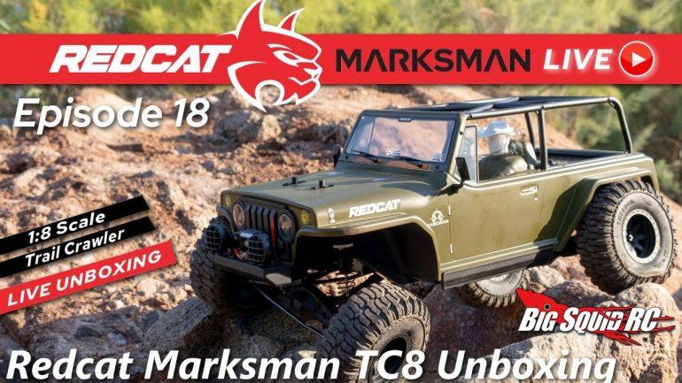 Redcat Racing Marksman TC8 Video Overview