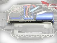 Tekno RC Big Bone Center Driveshaft Traxxas Hoss Rustler 4x4