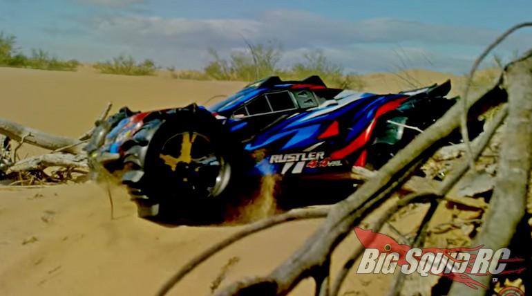 Traxxas Rustler 4x4 VXL Glamis Dunes Video
