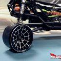 Treal Multi-spoke 2.2 Aluminum Beadlock Wheels - Black - Installed - 2