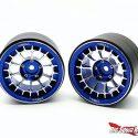 Treal Multi-spoke 2.2 Aluminum Beadlock Wheels - Blue