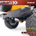 Club 5 Racing Dual Performance Exhaust for the Traxxas TRX-4 2021 Ford Bronco - Closeup