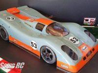 Delta Plastik Porsche 917 Body ARRMA Infraction Limitless