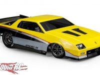 JConcepts 1987 Chevy Camaro IROC Clear Body