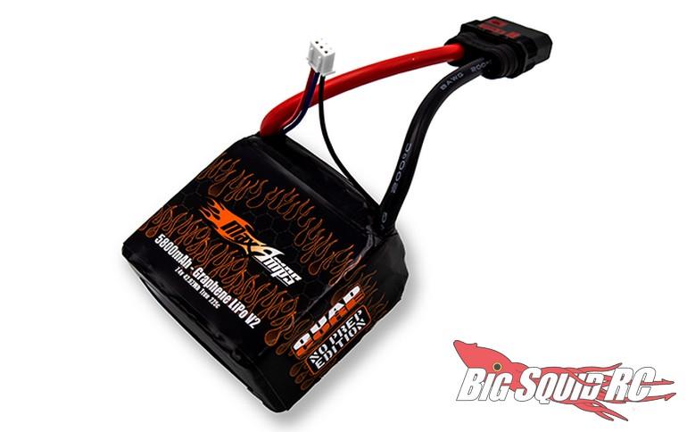 MaxAmps 2S 5800 V2 225C No Prep Drag Race LiPo Battery