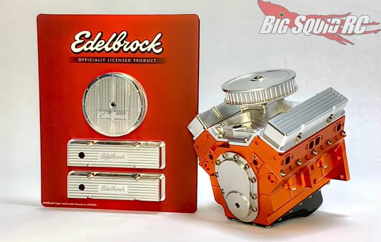 RC4WD Edelbrock V8 Motor Dress Up Kit