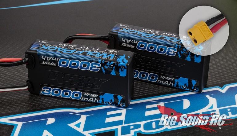 Reedy WolfPack Shorty LiPo Batteries XT60