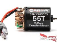 Spektrum Firma 55T Rebuildable 3-Pole Brushed Crawler Motor