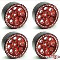 Treal 8-Hole Beadlock Wheels - Red