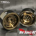 Treal Vintage Design Beadlock Wheels - Copper - 2